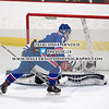 Boys Varsity Hockey: St. John's Prep defeated Burlington 3-2 on January 15, 2018, at O'Brian Arena in Woburn, Massachusetts.