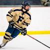 Foxborough Boys Varsity Hockey tied Stoughton 1-1 on February 19, 2015 at the Foxboro Sports Center in Foxboro, Massachusetts.