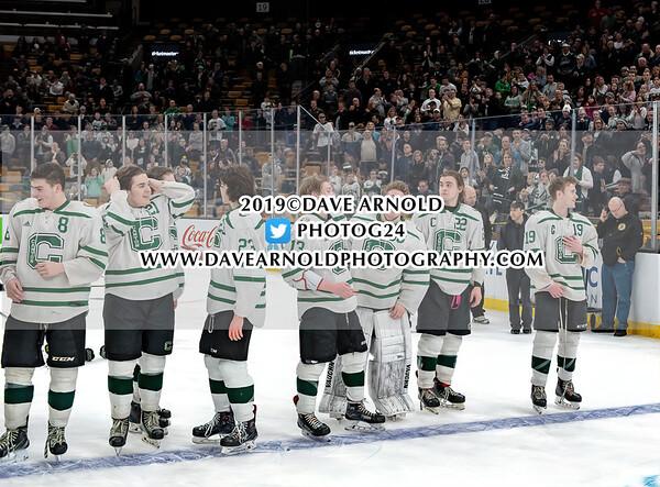 MIAA Division 2 Championship: Canton defeated Tewksbury 6-2 on March 17, 2019 at TD Garden in Boston, Massachusetts.
