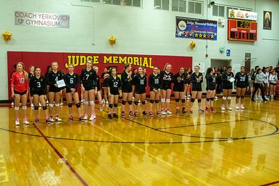 Judge Memorial Girls Volleyball