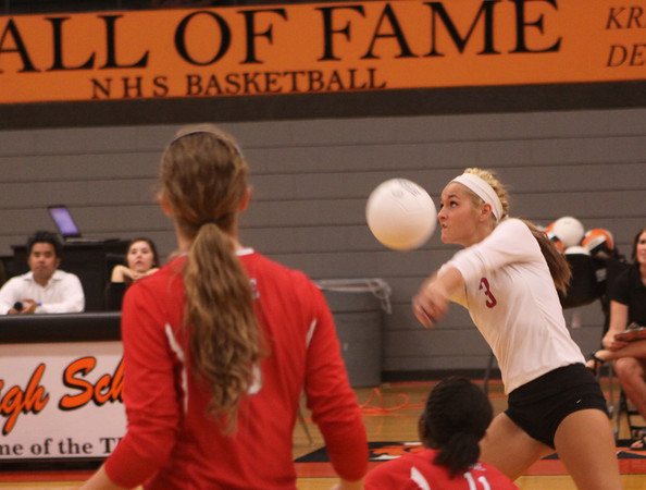 NHS v Moore volleyball 2