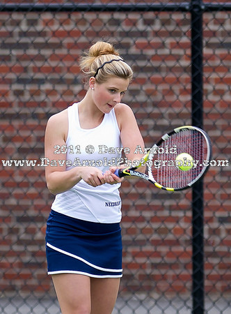 Needham Girls Varsity Tennis defeated Walpole 5-0 on May 10, 2011, at Needham High School in Needham, MAssachusetts.