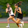 Girls Varsity Lacrosse: Wellesley defeated Walpole 7-5 to win the MIAA 2018 Division 1 State Championship on June 24, 2018 at Nickerson Field in Boston, Massachusetts.
