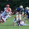 JV Football - Needham defeated Walpole 14-8 on September 21, 2015 at Needham High School in Needham, Massachusetts.