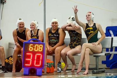 Kearns, Utah - Friday May 21, 2021: Utah High School Water Polo Association. Girls. Kearns vs Murray at Kearns Oquirrah Park Fitness Center. ©2021 Bryan Byerly