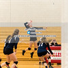 Girls Varsity Volleyball: Wellesley defeated Needham 3-2 on October 24, 2017 at Wellesley High School in Wellesley, Massachusetts.