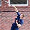Needham Boys Varsity Tennis defeated Wellesley 3-2 on April 30, 2015, at Needham High School in Needham, Massachusetts.