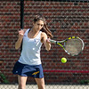 Girls Varsity Tennis: Wellesley defeated Needham 5-0 on May 1, 2018 at Needham High School in Needham, Massachusetts.