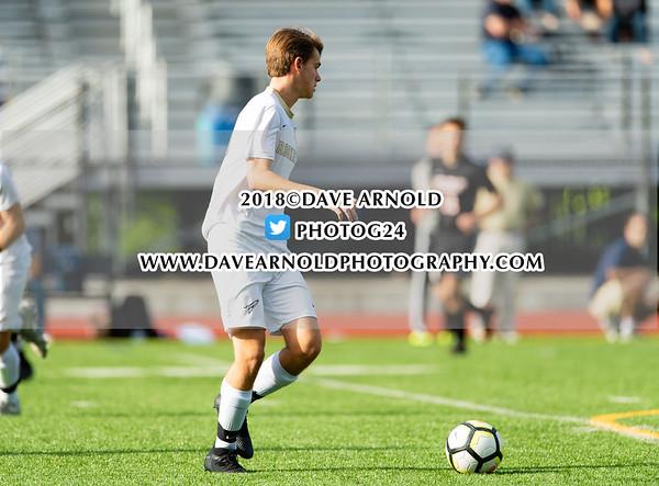 Boys Varsity Soccer: Needham defeated Wellesley 1-0 on September 27, 2018 at Wellesley High School in Wellesley, Massachusetts.