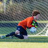 Boys JV Soccer: Yarmouth defeated Wells 2-0 on October 6, 2016, at Wells High School in Wells, Maine.