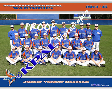 JV Baseball Team Final