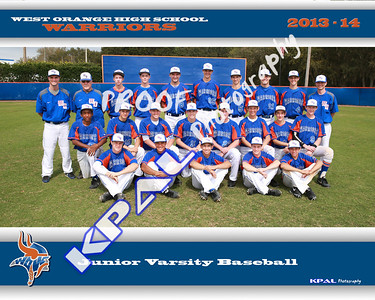 Baseball JV Team Final