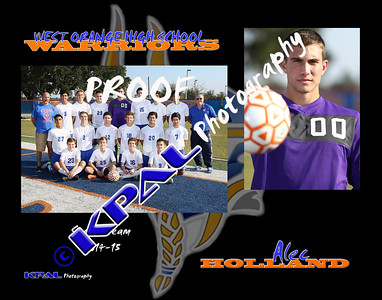 Alec Holland Team Collage
