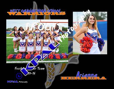 Arianna Herrera Team Collage