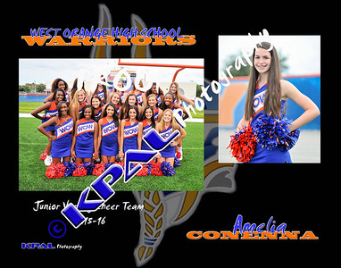 Amelia Conenna Team Collage