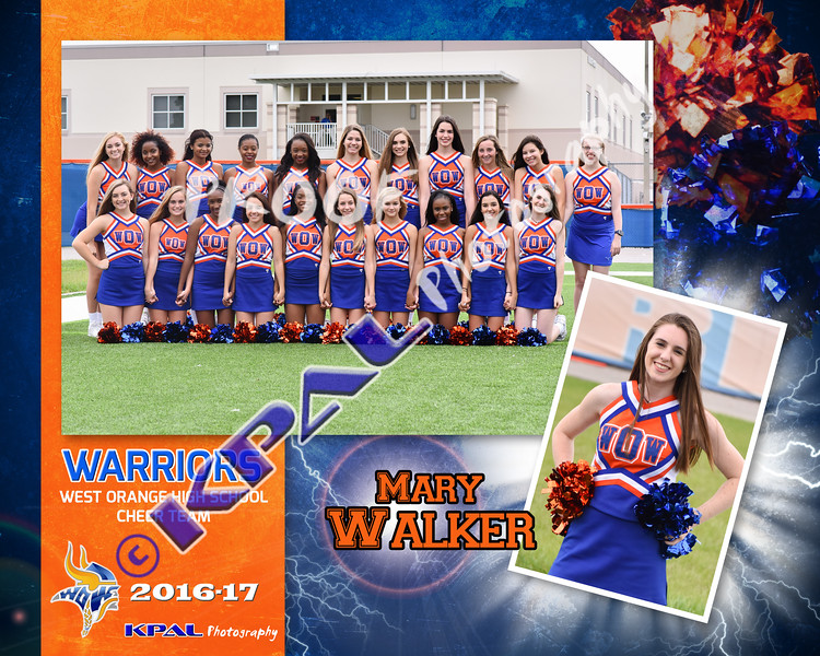 Mary Walker-Team Collage