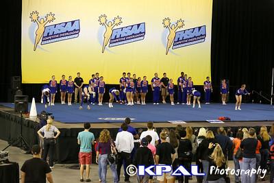 Cheerleading State Champions 2013-4
