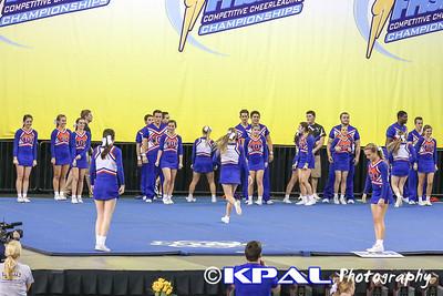Cheerleading State Champions 2013-1