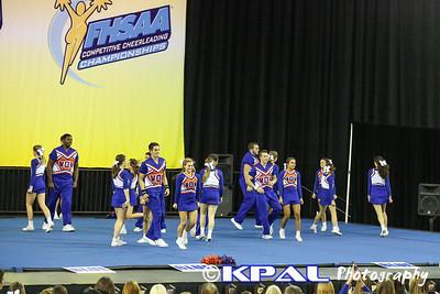 Cheerleading State Champions 2013-20