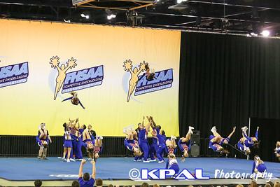 Cheerleading State Champions 2013-17