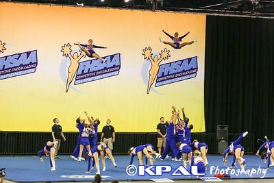 Cheerleading State Champions 2013-15