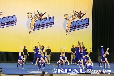 Cheerleading State Champions 2013-14