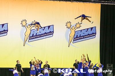 Cheerleading State Champions 2013-16