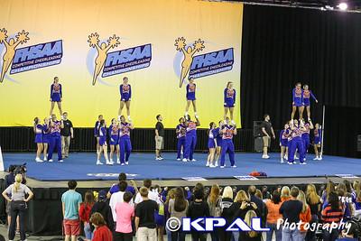 Cheerleading State Champions 2013-24