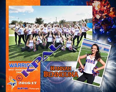 Hannah Bennouna-Team Collage