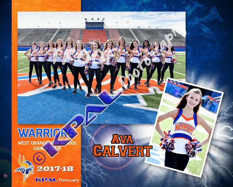 Ava Calvert-Team Collage