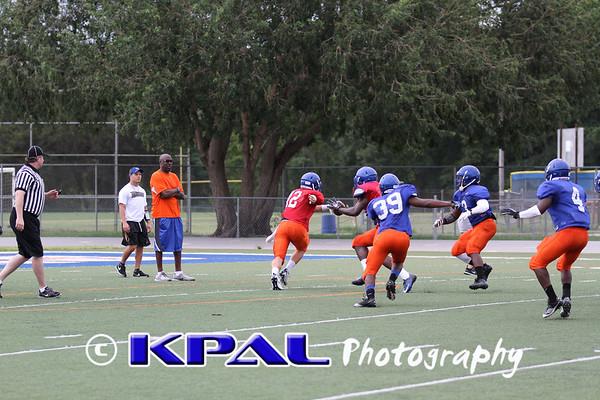 Blue & Orange Game 2012-10