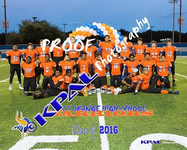 Football Team Seniors