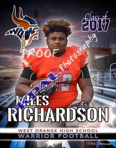 Miles Richardson-poster