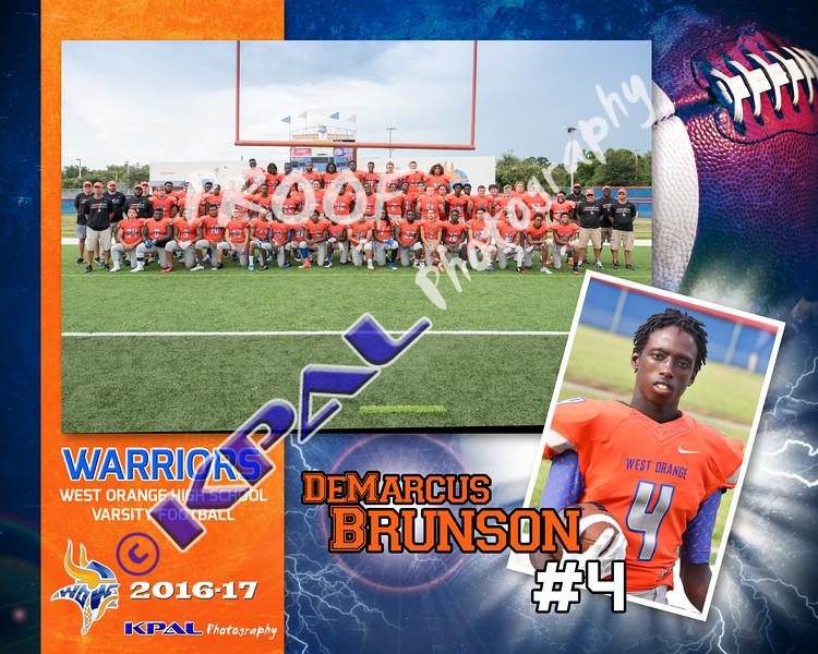 DaMarcus Brunson-Team Collage