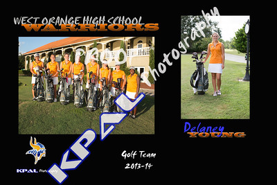 Delaney Young Team Collage