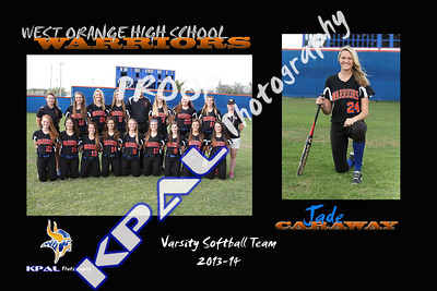Jade Caraway Team Collage