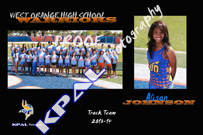 Alison Johnson Team Collage