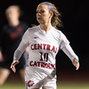 Girl Varsity Soccer - MIAA D1 State Semifinal: Central Catholic defeated Whitman-Hanson 2-1, in overtime, on November 16, 2016 at Manning Field in Lynn, Massachusetts.