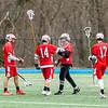 Boys Varsity Lacrosse: Reading defeated Wilmington 14-2 on April 12, 2018 at Wilmington High School in Wilmington, Massachusetts.