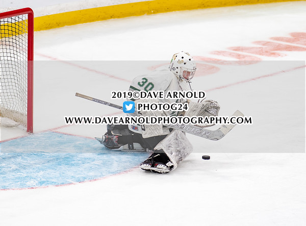MIAA Division 1 State Championship: Duxbury defeated Winchester 3-0 on March 17, 2019 at TD Garden in Boston, Massachusetts.