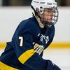 Boys Varsity Hockey: St. Johns Prep defeated Xaverian 4-2 on January 27, 2016, at the Ristuccia Memorial Arena in Wilmington, Massachusetts.