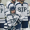 Derek Palm (SJP - 6) -  St. John's Prep defeated the visiting Xaverian Hawks 4-1 on February 5, 2011, at the Ristuccia Arena in Wilmington, MA.