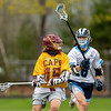 Boys Varsity Lacrosse: Cape Elizabeth defeated York 22-10 on May 4, 2021 at York high School in York, Maine