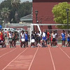 100 Meter Sprint at Freshman Sophomore Showdown