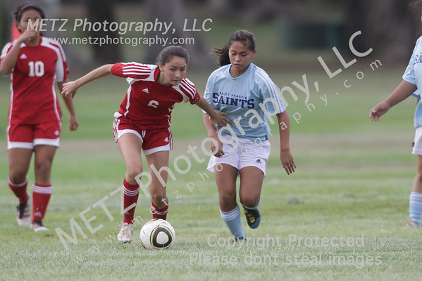 High School Girls Soccer 2012