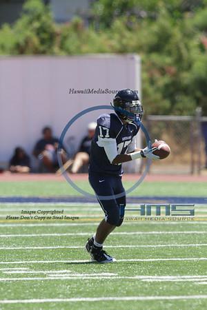 Kamehameha JV Football - STL 9-9-11