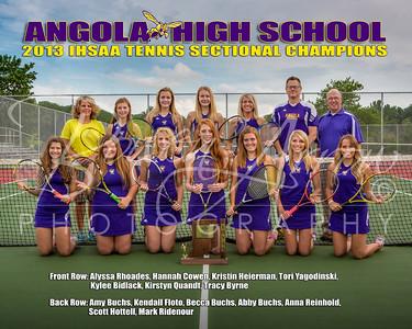 AHS Girls Tennis - Poster 16 x 20