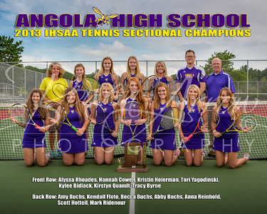 AHS Girls Tennis - Poster 16 x 20