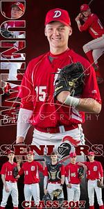 DHS Baseball Banner Brandon Dunham 01