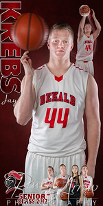 DHS Basketball Banner Jay Krebs